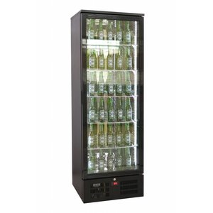 Combisteel Black High bar fridge - 293 Liter - 600x510x (H) 1800mm