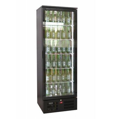 Combisteel Black High bar fridge - 293 Liter - 600x510x (H) 1800mm
