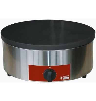 Diamond Crepe Maker Professioneel | Enkel | Elektrisch | 3600W / 230V | 40 cm diameter