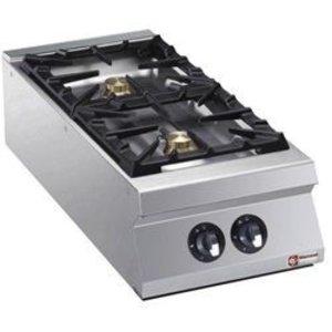 Diamond Tabletop stove | 2 burners | 6kw | 400x900x (H) 250mm