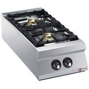 Diamond Tabletop stove | 2 burners | 10kw | 400x900x (H) 250mm