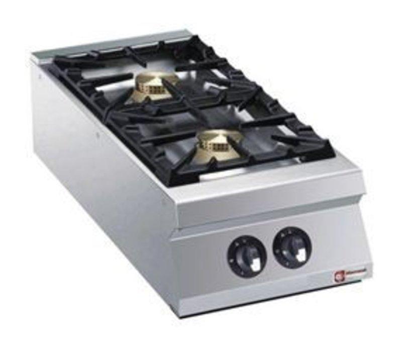 Diamond Tabletop stove   2 burners   10kw   400x900x (H) 250mm