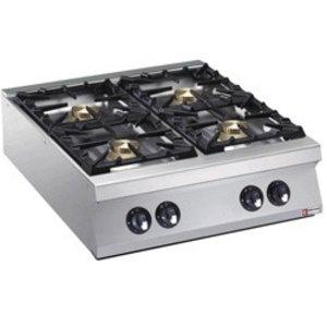 Diamond Tabletop stove | 4 burners | 10kw | 800x900x (H) 250mm