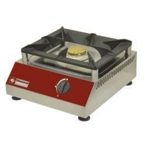 Diamond 1 burner gas stove - 5 Kw - 380x400x (H) 200mm