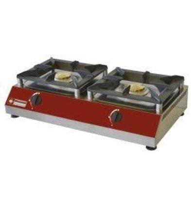 Diamond 2 stove burners | 5kw | 760x400x (H) 200mm