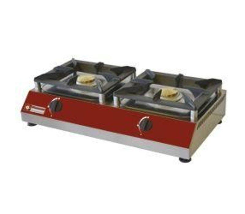 Diamond 2 stove burners   5kw   760x400x (H) 200mm