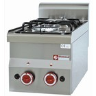 Diamond Tabletop stove - 2 burners - 3,3kw + 3,6kW - 300x600x (H) 280mm
