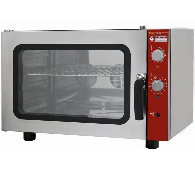 Diamond Convection Oven with humidifier - 825x685x560 (h) - 4 x 1/1 GN