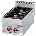 Diamond Tabletop stove | 2 burners | 5 kw + 3.6 kw | 400x650x (H) 280mm
