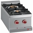 Diamond Tabletop stove | 2 burners - 3,5kw + 6kw | 400x700x (H) 250mm