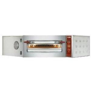 Diamond Pizza Hoek Oven | 8 Pizza's Ø35cm | 400V | 11,7kW | 1420x1580x(H)435mm