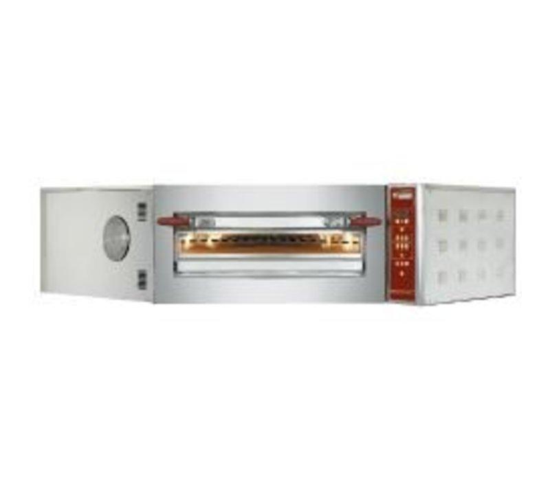 Diamond Pizza Hoek Oven   8 Pizza's Ø35cm   400V   11,7kW   1420x1580x(H)435mm