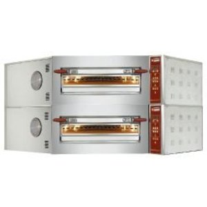 Diamond Corner Pizza Oven | 2 x 8 Pizzas Ø35cm | 400V | 23.4 | 1420x1580x (H) 770mm