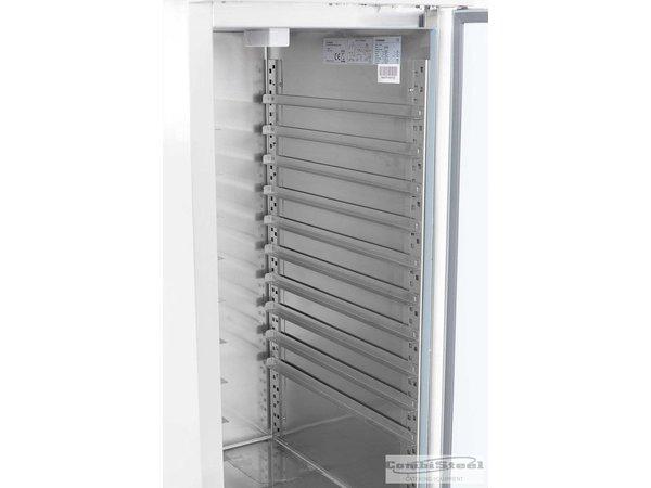 Combisteel Bakker Freezer Stainless steel - 737 liters - 74x99x (h) 201cm - Max. 26 x 600x400mm Schedules