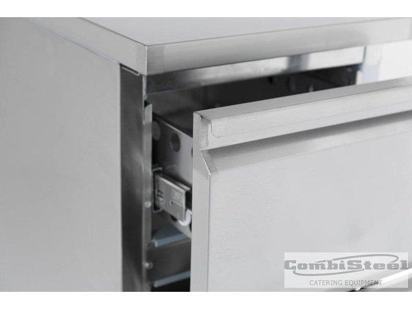 Combisteel Kühle Workbench - 2 Schubladen - 44x70x (h) 87cm