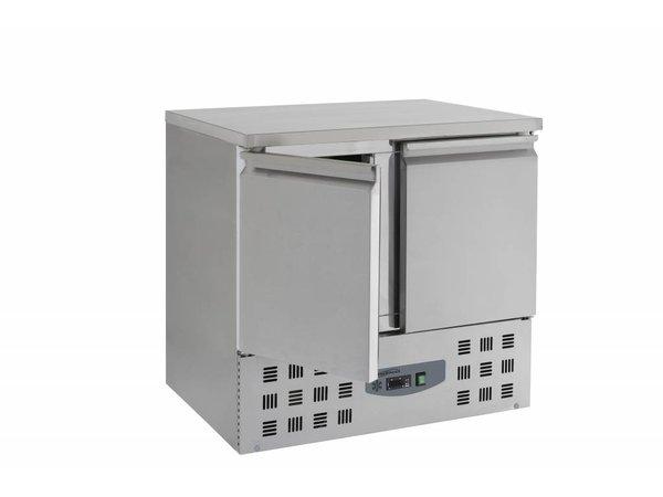 Combisteel Kühle Workbench - SS - 2 Türen - 90x70x (h) 87cm - BASIC