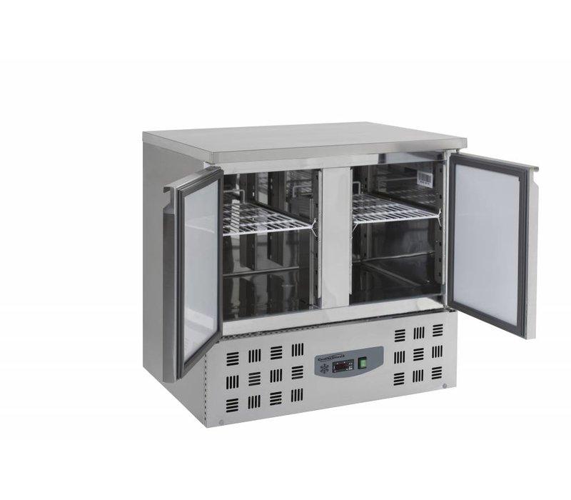 Combisteel Cool Workbench - SS - 2 doors - 90x70x (h) 87cm - BASIC