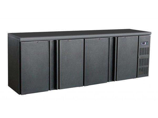 Combisteel Minibar | 4 Blinde Kuh Türen | 698 Liter | 2542x513x (H) 860mm