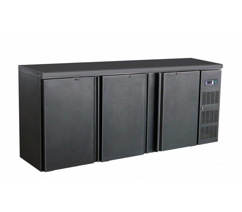 Combisteel Bar fridge 3 Blind taillights - 537 liters - 2002x513x860 (h) mm