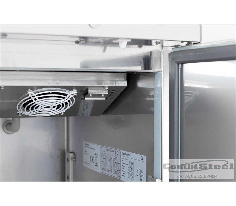 Combisteel Freezer Stainless Steel Narrow - 48x70x (h) 201cm - 350Liter.