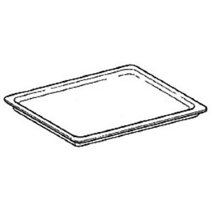 Diamond Stainless steel baking pan 433x333mm