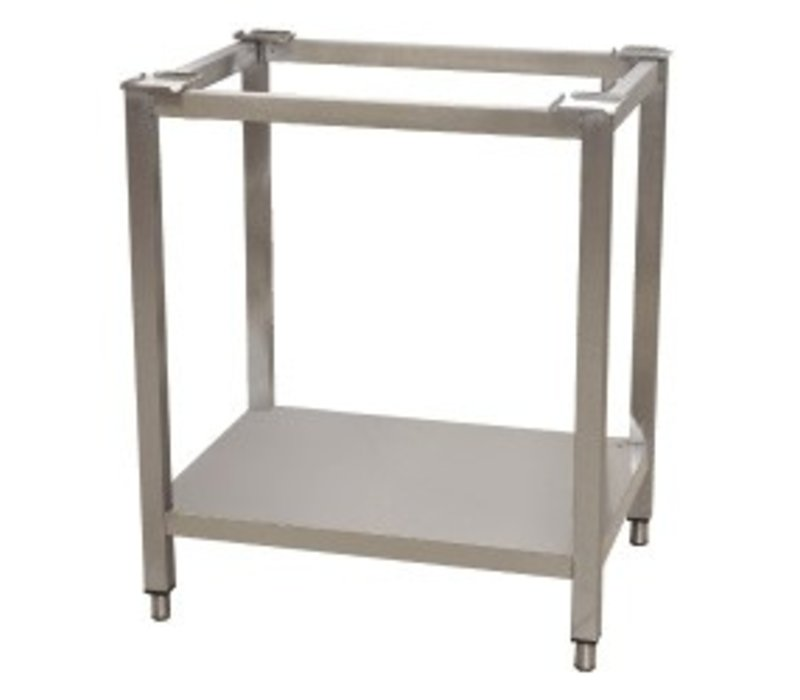 Diamond Trolley for oven with shelf