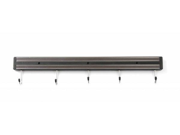 Hendi Messenmagneet zwart 450 mm - PP