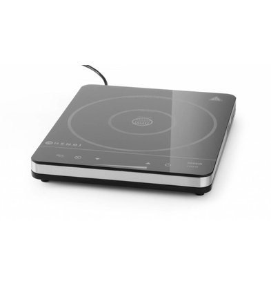 Hendi Induction hob model in 2000 - 296x370x (h) 46 - 2000W