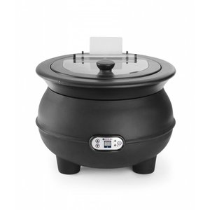 Hendi Electric Stockpot Eco 8 Liter with Digital Display