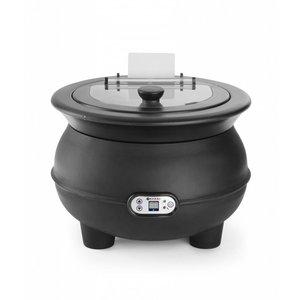 Hendi Elektrische Soeppan Eco 8 Liter met Digitaal Display