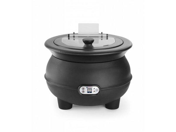 Hendi Elektrische Stockpot Eco 8 Liter mit Digitalanzeige