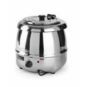Hendi Elektrische Soepketel RVS 8 Liter