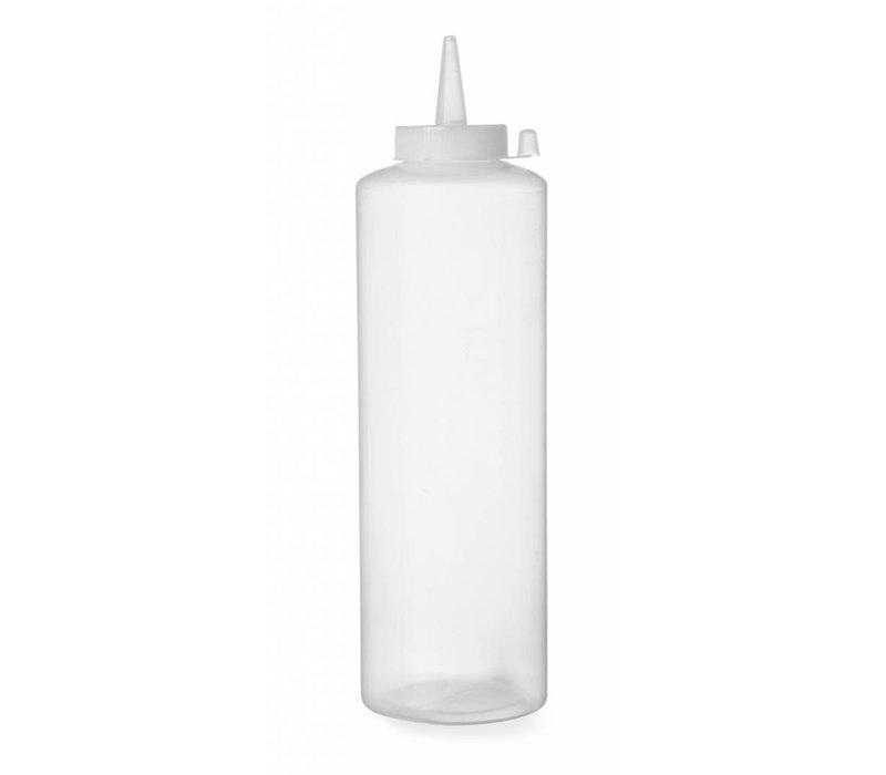 Hendi Dispenser Flacon Transparant | 70 cl | PE dop PC | 70x(h)240mm