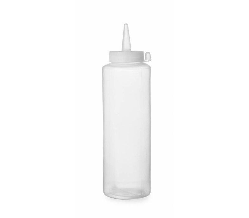 Hendi Spenderflasche Transparenz | 3 Stück | 20 cl | PE Kappe PC | 50x (H) 185mm