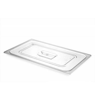 Hendi Gastronorm-Deckel 1/1 - BPA-frei Tritan