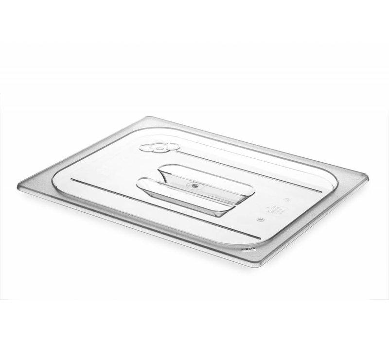 Hendi Gastronorm-Deckel Hälfte - BPA-frei Tritan