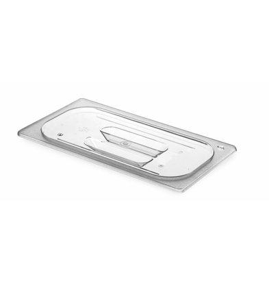 Hendi Gastronorm-Deckel 1/3 - BPA-frei Tritan