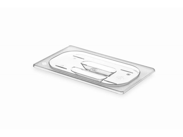 Hendi Gastronorm-Deckel 1/4 - BPA-frei Tritan