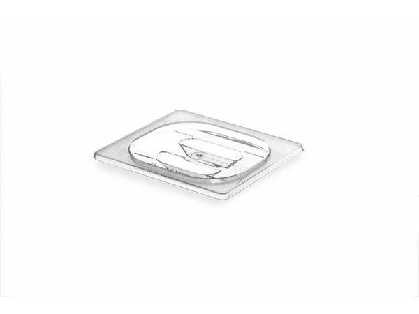 Hendi Gastronorm-Deckel 1/9 - BPA-frei Tritan