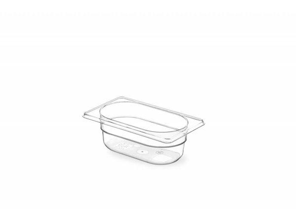 Hendi Gastronormbak 1/9 - 65 mm - BPA-free Tritan