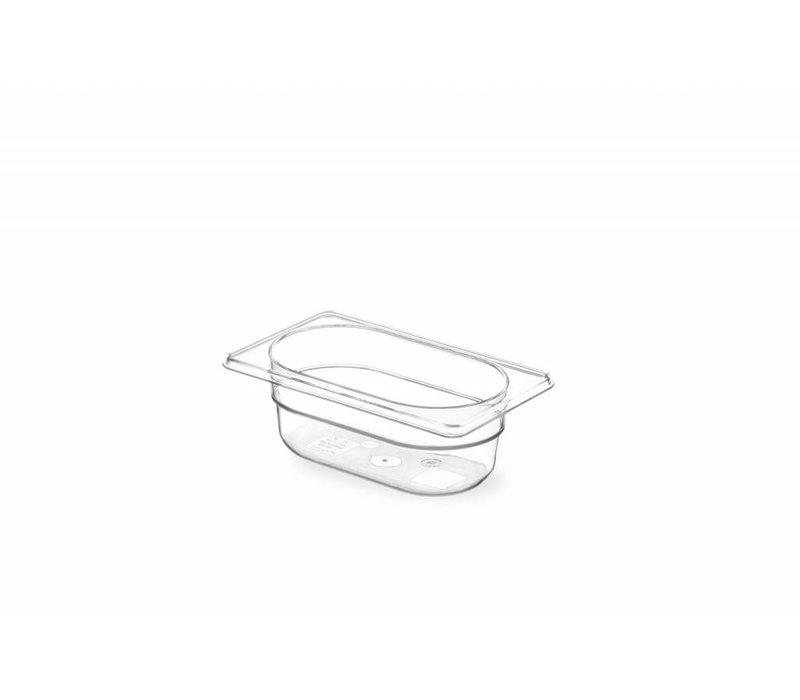 Hendi Gastronormbak 1/9 - 65 mm - Tritan BPA vrij