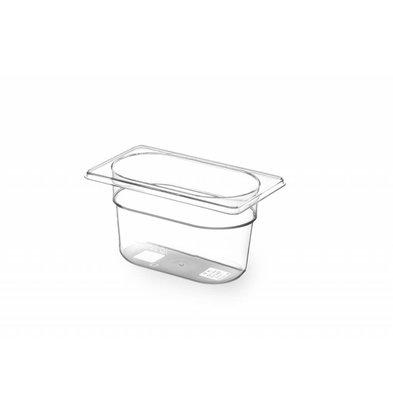 Hendi Gastronormbak 1/9 - 100 mm - Tritan BPA vrij