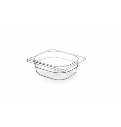 Hendi Gastronormbak 1/6 - 65 mm - Tritan BPA vrij