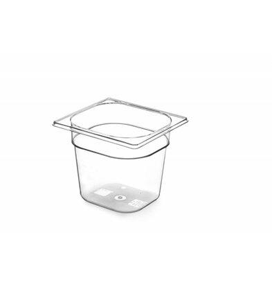 Hendi Gastronormbak sechsten - 150 mm - BPA-frei Tritan