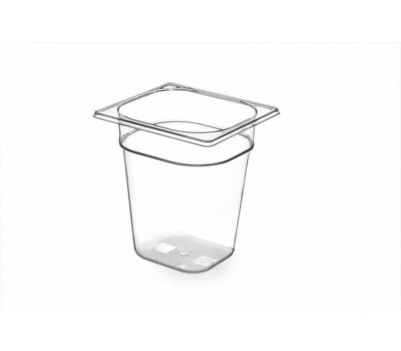 Hendi Gastronormbak 1/6 - 200 mm - Tritan BPA vrij