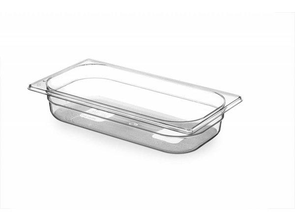 Hendi Gastronormbak 1/3 - 65 mm - BPA-free Tritan