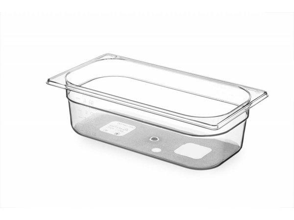 Hendi Gastronormbak 1/3 - 100 mm - BPA-frei Tritan