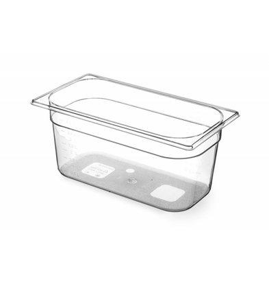 Hendi Gastronormbak 1/3 - 150 mm - BPA-frei Tritan