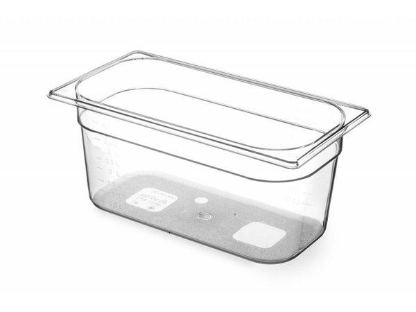 Hendi Gastronormbak 1/3 - 150 mm - Tritan BPA vrij