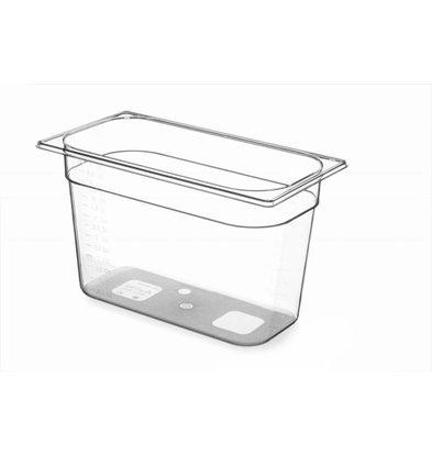 Hendi Gastronormbak 1/3 - 200 mm - BPA-frei Tritan